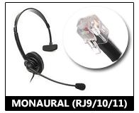 monaural RJ11