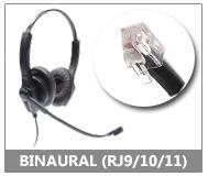 binaural RJ11