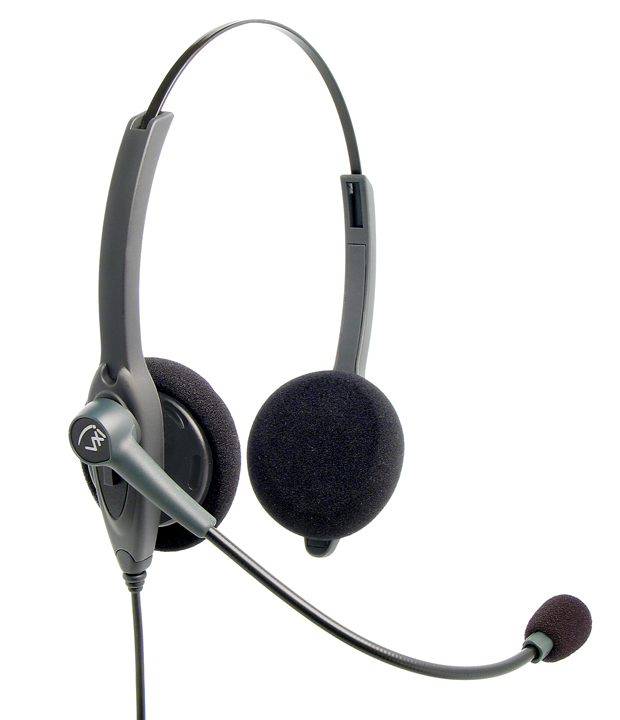 VXi Passport 21G Binaural Headset - RJ Type Connection Cable